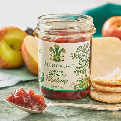 Highgrove Organic Orchard Chutney, 200G