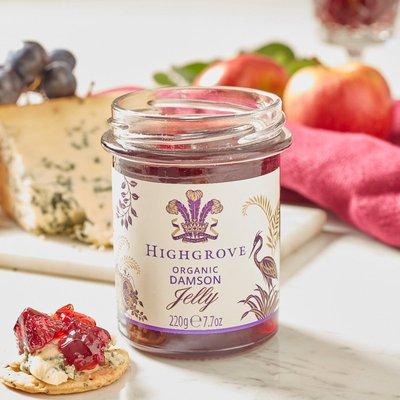 Highgrove Organic Damson Jelly, 220G