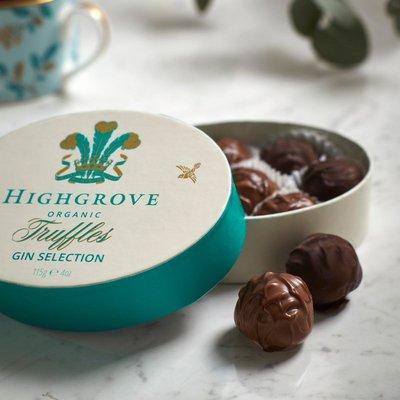Fortnum & Mason Highgrove Organic Gin Truffle Selection 115g
