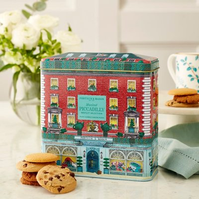Fortnum & Mason Musical Piccadilly Biscuit Selection Tin, 300G
