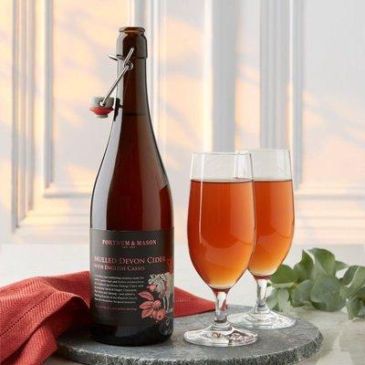 Fortnum's Mulled Cider With English Cassis, Ashridge Cider, 75Cl