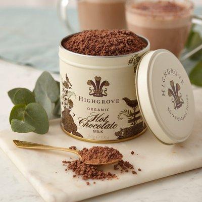 Fortnum & Mason Highgrove, Organic Milk Hot Chocolate 250g