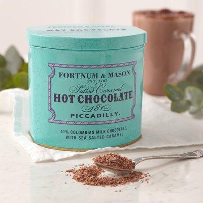 Fortnum & Mason Ultimate Salted Caramel Hot Chocolate, 300G