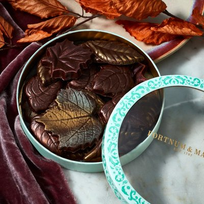 Fortnum & Mason Autumnal Chocolate Leaves, 115g