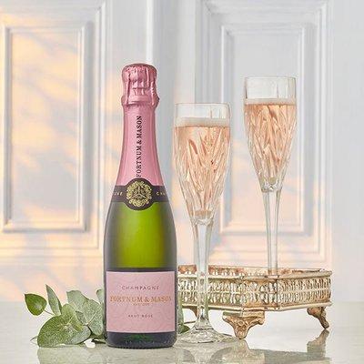 Fortnum & Mason's Rosé Champagne N.V Half Bottle, Billecart-Salmon, 37.5cl