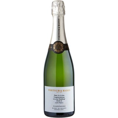 Fortnum's Personalised Blanc De Blancs Champagne, 75Cl