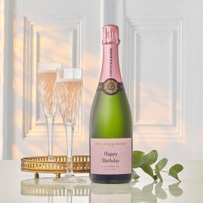 Fortnum's Personalised Rosé Champagne, Billecart-Salmon, 75Cl