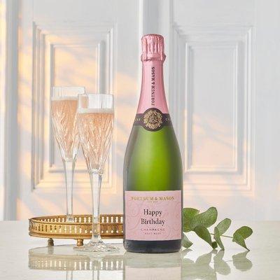 Fortnum & Mason's Personalised Rosé Champagne, Billecart-Salmon, 75cl