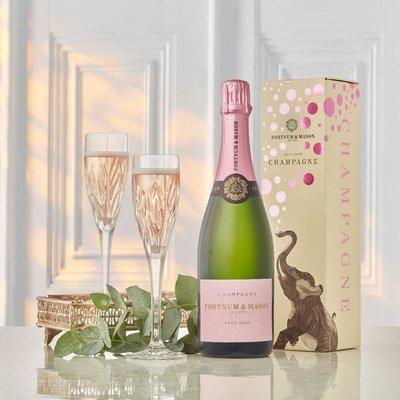 Fortnum's Rosé Champagne Gift Box N.V, Billecart-Salmon, 75Cl