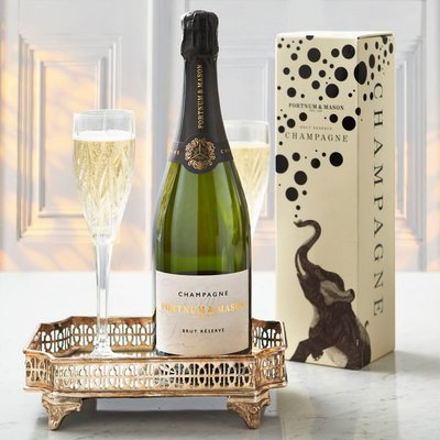 Fortnum & Mason Brut Réserve Champagne Gift Box, Louis Roederer, 75Cl