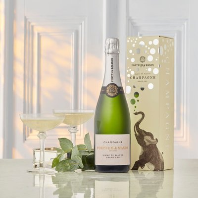 Fortnum's Blanc De Blancs Champagne Gift Box N.V, Hostomme, 75Cl