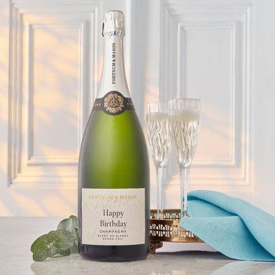 Fortnum's Personalised Blanc De Blancs Champagne Magnum, Hostomme, 150Cl