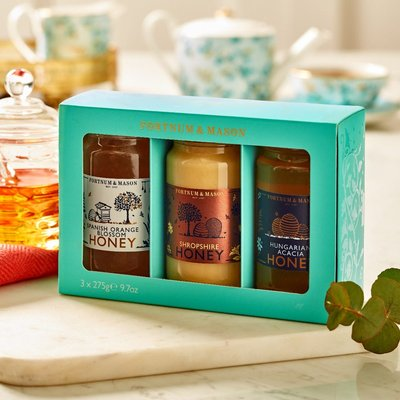 Fortnum's Honey Gift Pack, 3 X 275G