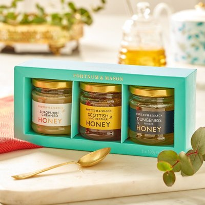 Fortnum & Mason Honey From Selection Pack, 3 X 100G