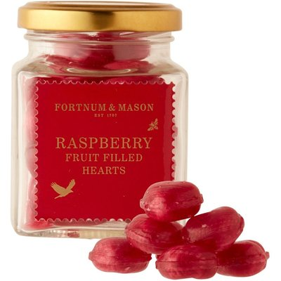 Fortnum & Mason Soft Centre Heart Sweets, 130G