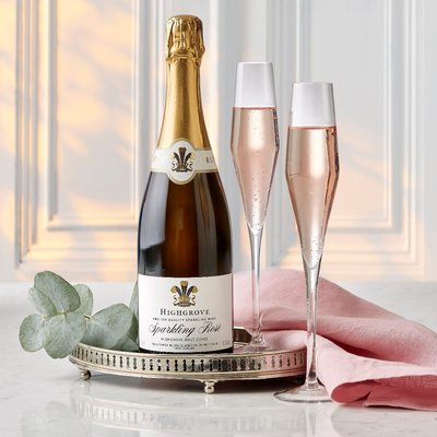 Highgrove English Sparkling Rosé N.V., 75Cl