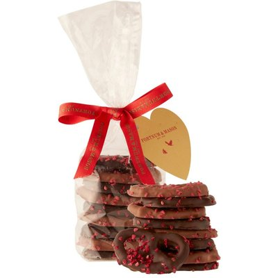 Fortnum & Mason Valentines Chocolate Covered Pretzels