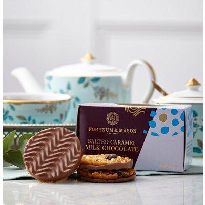 Fortnum & Mason Salted Caramel Milk Chocolate Florentines, 150G