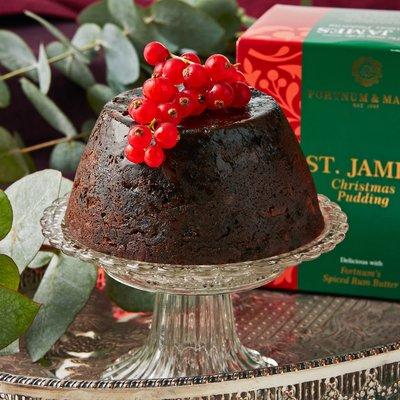 Fortnum & Mason St James Christmas Pudding, 454g