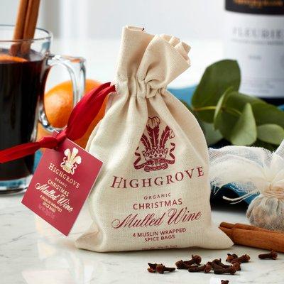 Fortnum & Mason Highgrove Organic Mulled Wine Spice Bag
