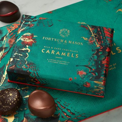 Fortnum & Mason Chocolate Caramels Selection Box, 54G