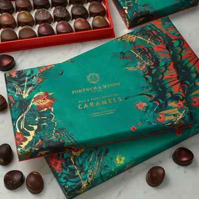 Fortnum & Mason Chocolate Caramels Selection Box, 288G