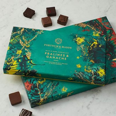 Fortnum & Mason Chocolate Pralines & Ganache Selection Box, 320g