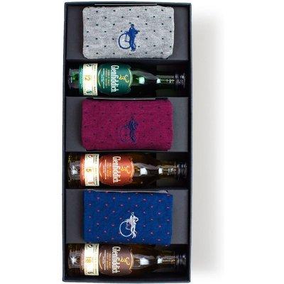 London Sock Company Whiskey Gift Box, Medium
