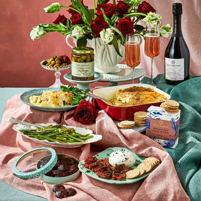 The Fortnum's Vegetarian Valentine's Meal With Sparkling Tea
