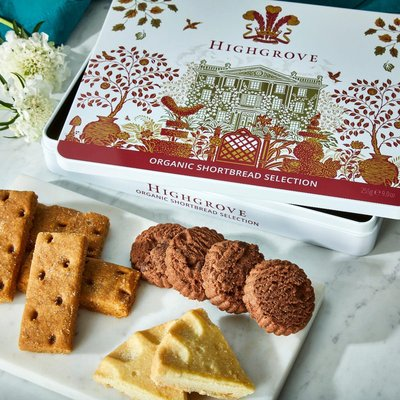 Highgrove Shortbread Selection Tin, 255G