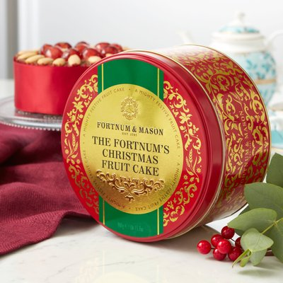 Fortnum & Mason Christmas Cake In A Tin, 900G