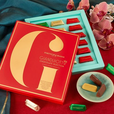 Fortnum & Mason Gianduja Chocolate Selection Box, 180g