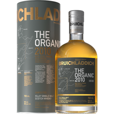 Bruichladdich Organic Barley 2010 Scotch Whisky, 70Cl
