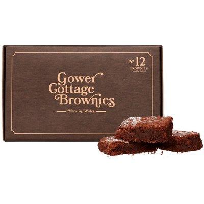 Fortnum & Mason Gower Cottage Gluten-Free Chocolate Brownies, 550G