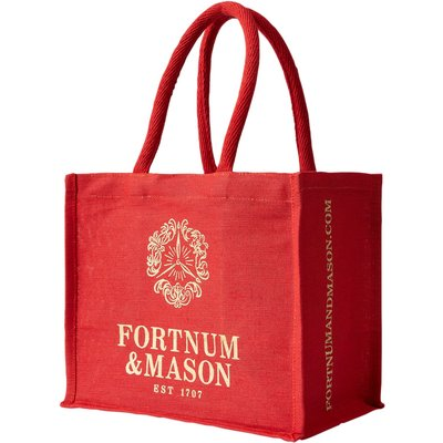 Fortnum & Mason Red & Gold Bag For Life, Small