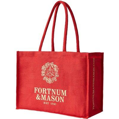 Fortnum & Mason Red & Gold Bag For Life, Standard