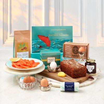 Fortnum & Mason Salmon Breakfast Box