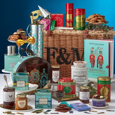 Fortnum & Mason The Christmas Extravaganza Hamper, Alcohol-Free