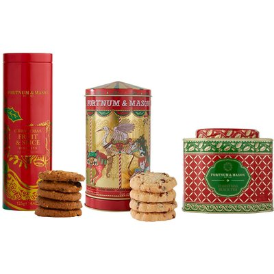 Fortnum & Mason The Musical Christmas Tea Time Trio, 455G