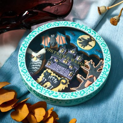 Fortnum & Mason Haunted House Iced Biscuits, 72g