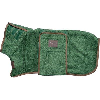 Fortnum & Mason Nash Green Bamboo Drying Dog Coat, Small