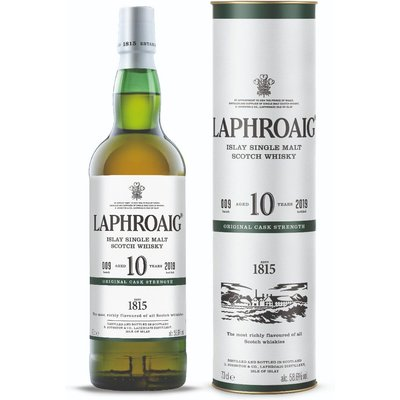 Laphroaig 10 Year Old Cask Strength Scotch Whisky, 70Cl