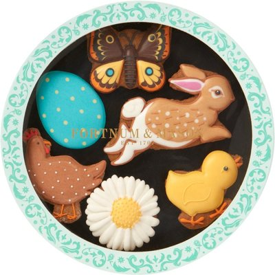 Fortnum & Mason Easter Icon Iced Biscuits