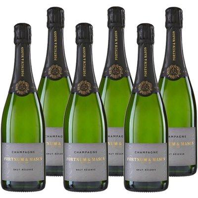 Fortnum & Mason's Brut Reserve Champagne Case, 6 Bottles
