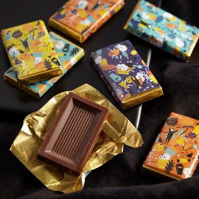 Fortnum & Mason Halloween Milk Chocolate Slims, Pack of 7, 70g