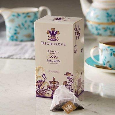 Highgrove Organic Earl Grey, 20 Silky Tea Bags, 50G