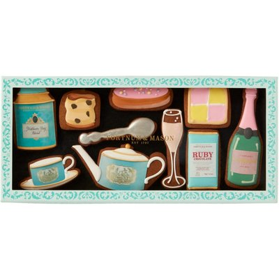Fortnum & Mason Mother's Day Afternoon Tea Iced Biscuits