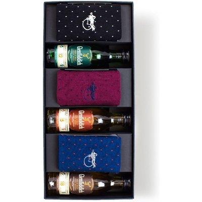 London Sock Company Whiskey Gift Box, Large