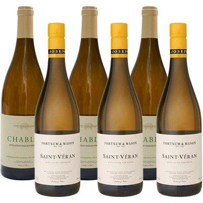 Fortnum & Mason White Burgundy Wine Case, 6 Bottles