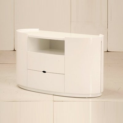 Laura TV Stand For Bedroom In High Gloss White
